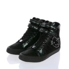 Foto 1 de 2 de la galería sneakers-negras-hello-kitty-de-victoria-couture en Trendencias