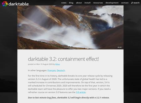 Darktable 3 2 Launch 02