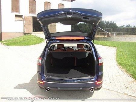Ford Mondeo SportBreak maletero