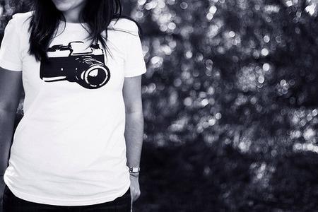 20 camisetas para enseñar el fotógrafo que hay en ti