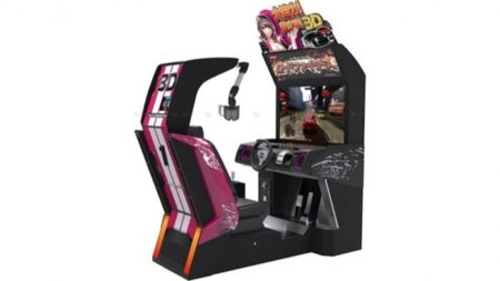 El 3D llega a las máquinas recreativas por Konami
