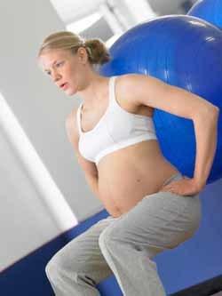 Ejercicio para reducir el riesgo de parto prematuro