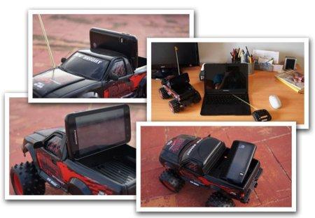 Reto nº7 para el Motorola Atrix - conducir un coche teledirigido 2