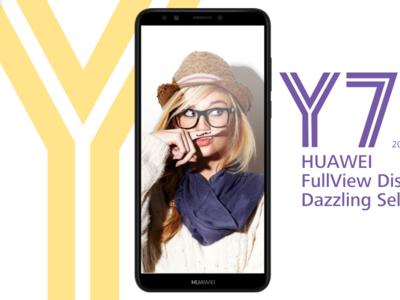 Huawei Y7 2018: la gama económica llega a las 6 pulgadas 18:9 y une el lector de huellas a Face Unlock