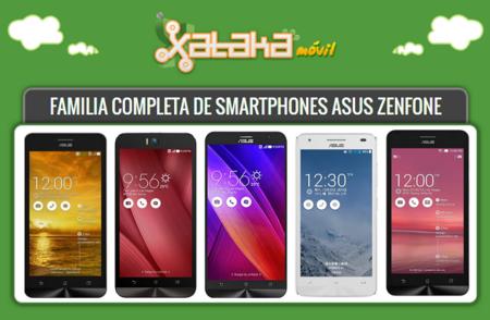 Todos los detalles de la familia de smartphones ASUS Zenfone al completo