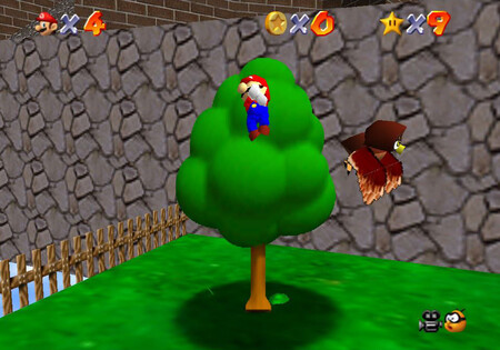 Super Mario 64: cómo conseguir la estrella Fall onto the Caged Island de Whomp's Fortress