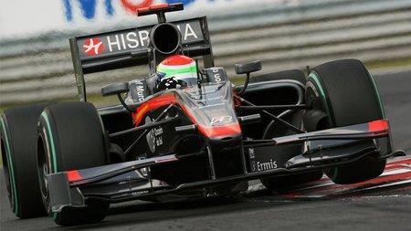 Sakon Yamamoto mantendrá su plaza en Hispania para el Gran Premio de Bélgica