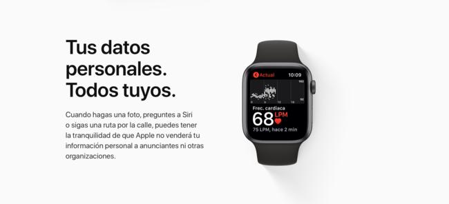 Cómo saber los datos que Apple tiene de ti
