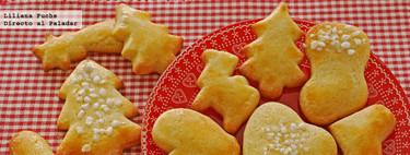 Mailänderli, galletas de mantequilla y limón. Receta de Navidad