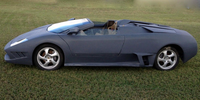 Porsche Boxster + Lamborghini Murcielago LP640 Roadster