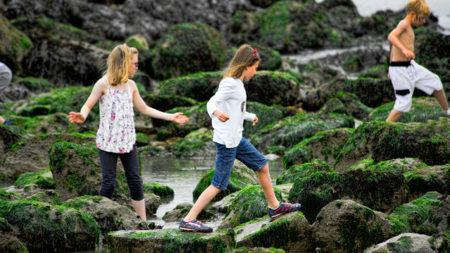 Para los niños: ejercicio moderado y no obligado