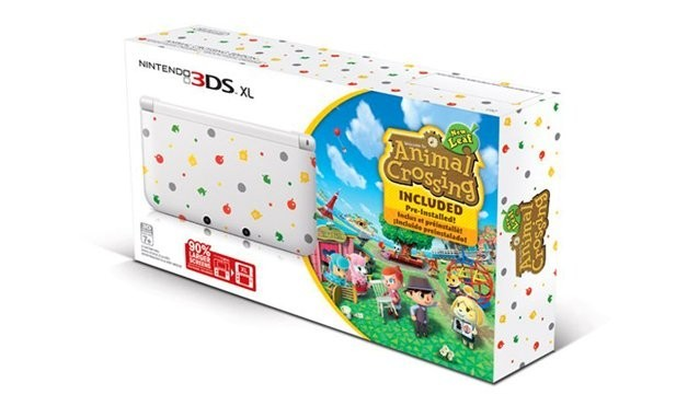 Animal crossing edicion especial consola 3DS XL