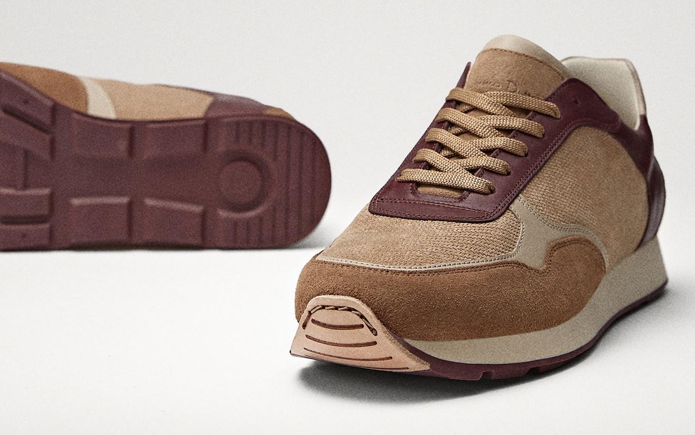 newest collection c2381 fffb1 Éstos sneakers de Massimo Dutti son lo que necesitas para adoptar un  perfecto estilo retro en tu look