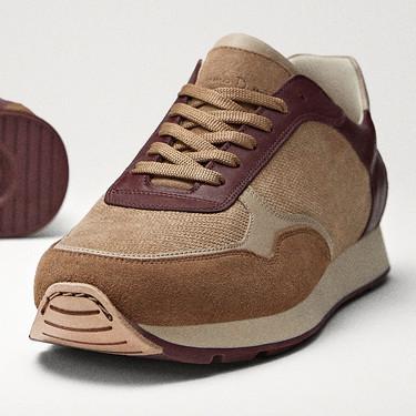 Éstos sneakers de Massimo Dutti son lo que necesitas para adoptar un perfecto estilo retro en tu look