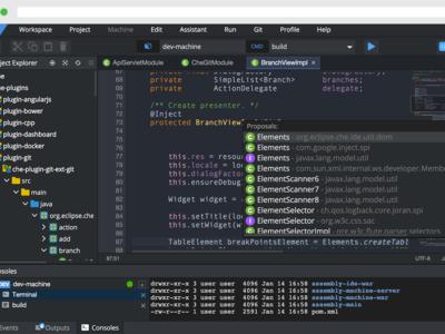Eclipse Che es un nuevo IDE basado en la nube que trata de reinventar el trabajo colaborativo