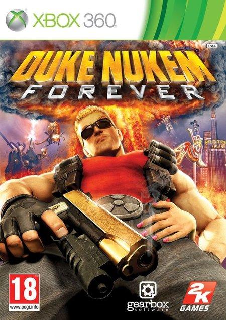 Duke Nukem Forever - Portada Xbox 360