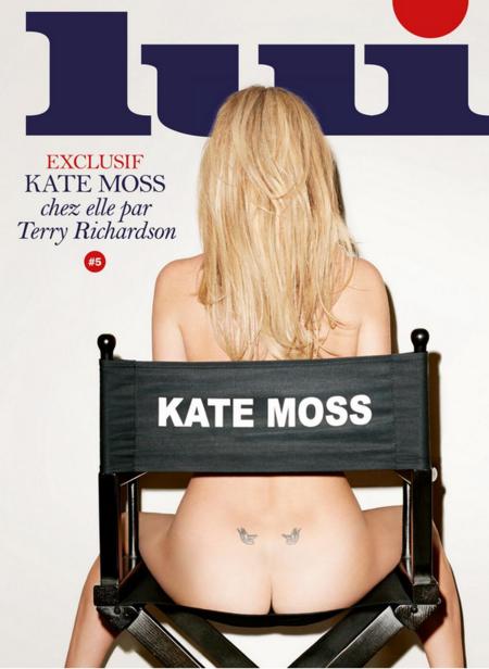 Kate Moss enseña culete (y lo que no es culete) para la revista Lui