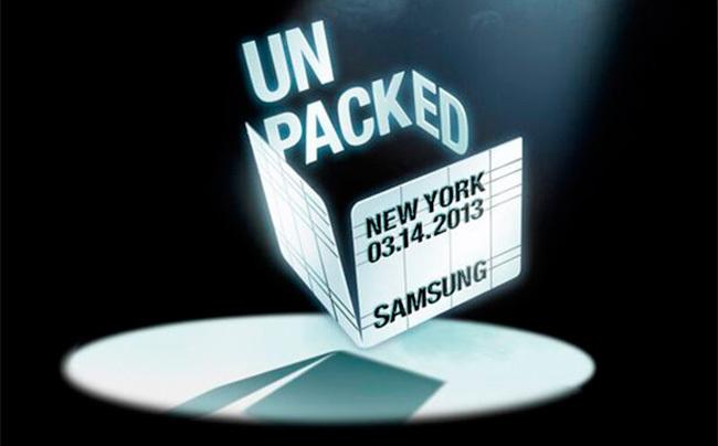 Samsung Galaxy S4 presentación