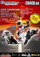 Curso de Supermotard con MXCoach: Xavi Forés, Ruben Retuerta y Diego Grande