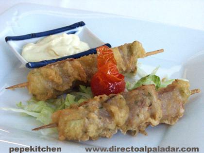 tempura de atun