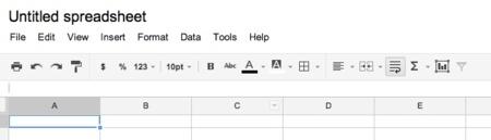 google drive hoja de calculo