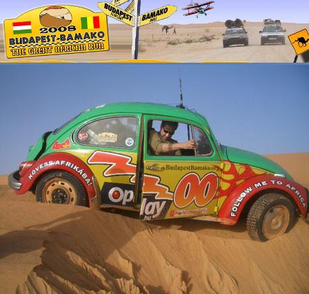"Budapest-Bamako: un Dakar ""diferente"", que sí pasará por Mauritania"