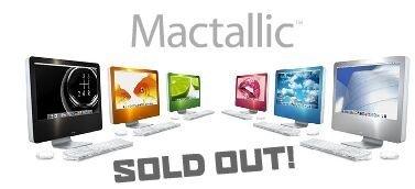 Pegatinas de colores para el iMac