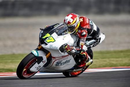 Dominique Aegerter Moto2 Gp Espana 2017