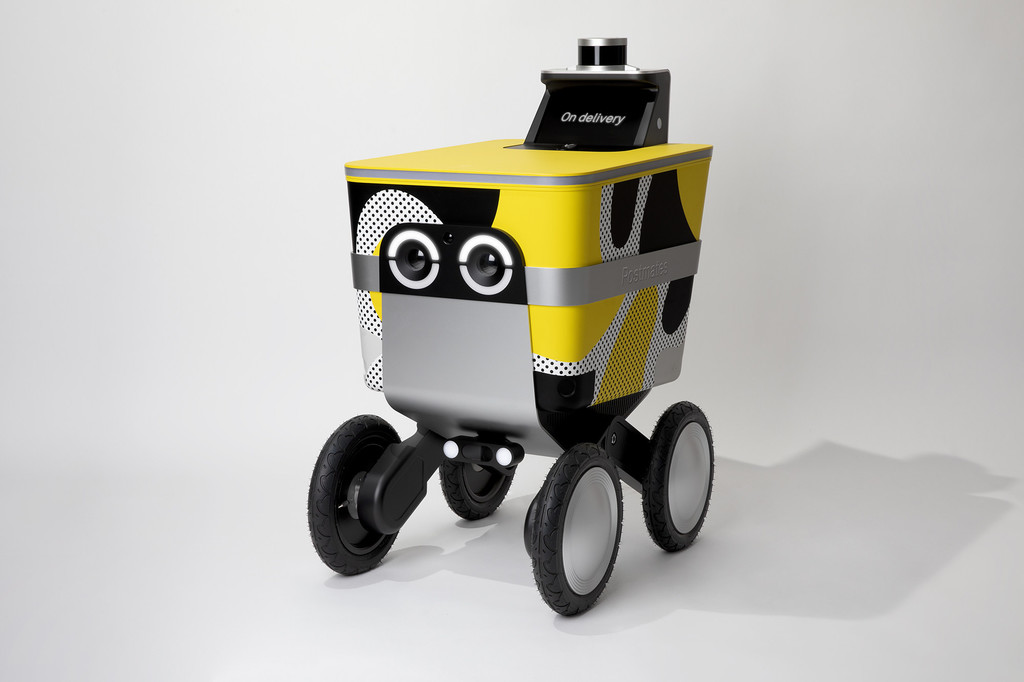 La competencia de Glovo es un robot autónomo que irá por la acera para evitar atascos