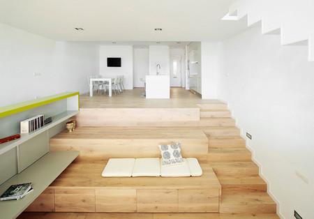 Casas que inspiran: una vivienda organizada en bancales