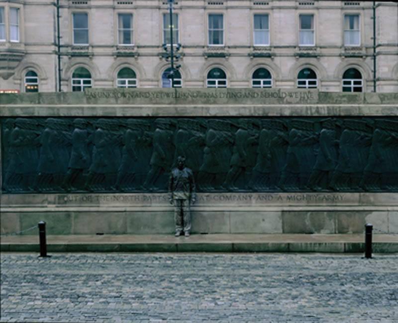 Foto de Hiding in the City: el hombre invisible. Liu Bolin (26/50)
