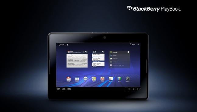 blackberry podria ejectur aplicaciones android