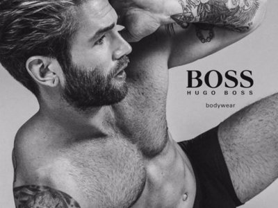 8 modelos internacionales del momento en paños menores por obra y gracia de Hugo Boss
