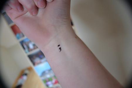 Qué Significa El Tatuaje De Punto Y Coma