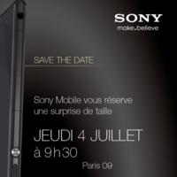 Es oficial, Sony presentará el Xperia Z Ultra el 4 de julio en París