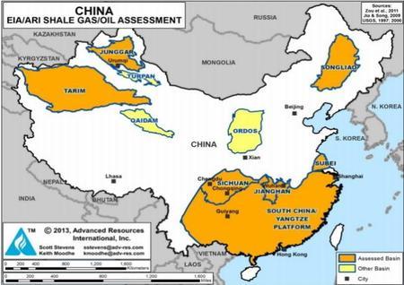 China entra al fracking en yuanes y amenaza el arma principal de Estados Unidos