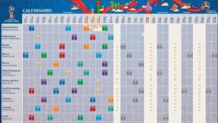Mundial Calendario