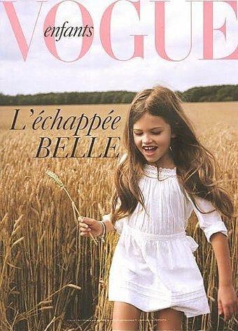 Vogue Enfants portada Thylane Léna-Rose Blondeau