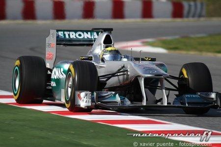 Mercedes GP ya es más Daimler