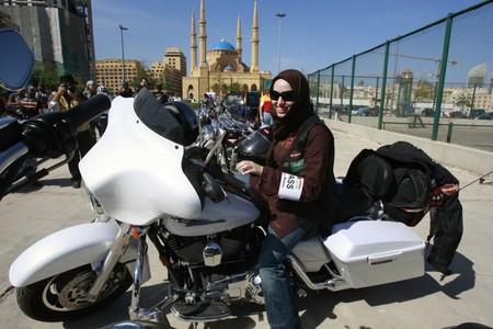 Saudi Arabia Motorbike Women