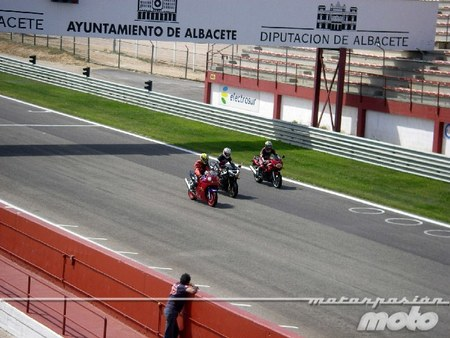 Recta de Albacete curso