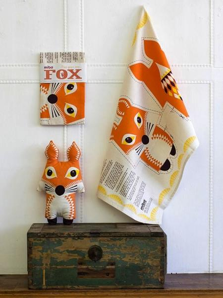 Divertidos paños de cocina de Mibo que se convierten en muñecos de animales