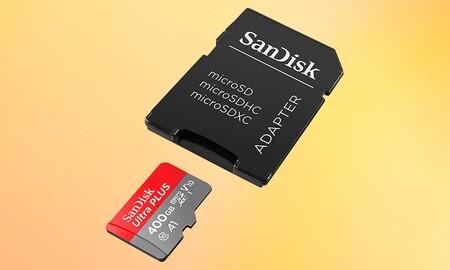 ¿Necesitas mucho almacenamiento en tu smartphone, dron o cámara de acción? La tarjeta MicroSDXC SanDisk Ultra de 400 GB está a precio mínimo en Amazon por 57,99 euros