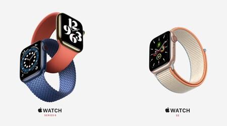 Apple Watch Series 6 y Apple Watch SE: medición de saturación de oxígeno en la sangre, nuevos colores y hasta versión económica