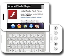 Flash 10.1 para todos, excepto iPhone
