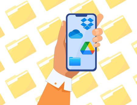 Google Drive vs Onedrive vs Dropbox vs iCloud: comparativa de las apps de móvil de los principales servicios en la nube