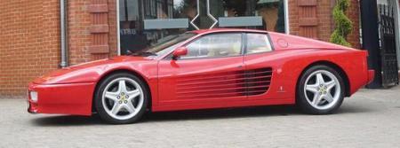 A subasta el Ferrari 512 Testarossa de Sir Elton John