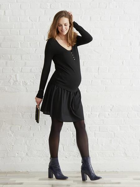 Vestido Premama Negro