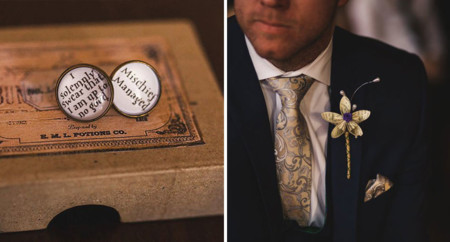 Harry Potter Themed Wedding Cassie Lewis Byrom 20