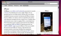 Truco: Busca en la Wikipedia desde el mismo sistema